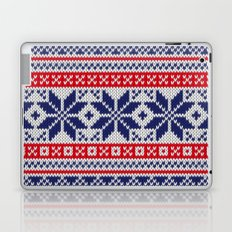 Winter knitted pattern 7 Laptop & iPad Skin