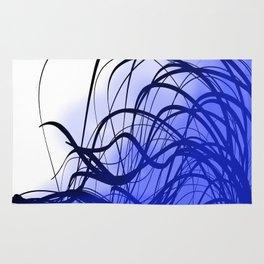 Blue Movement Rug