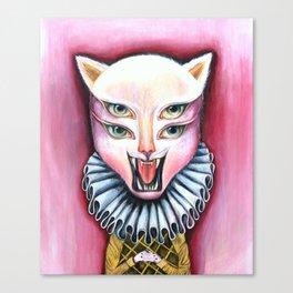 Cat | Vanity Canvas Print