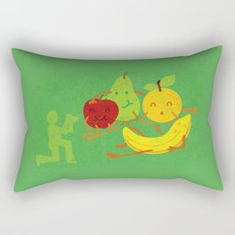 In the photo of still life, all we are happy Rectangular Pillow