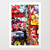 grafitti Art Prints featuring Grafitti by Emily Dolenz Photography