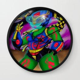 Alien Wear Wall Clock