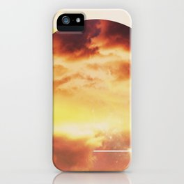Helios And Clouds iPhone Case
