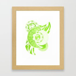 Foliation Framed Art Print
