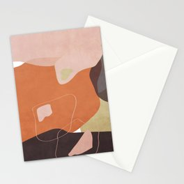 Modern minimal forms 25 Stationery Cards