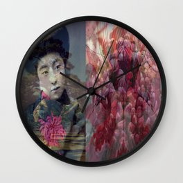 Once Upon A Time in Tokyo XVI Wall Clock