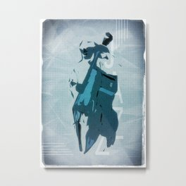 Jazzy Poster Metal Print