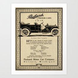 Pachard - Vintage Poster Art Print
