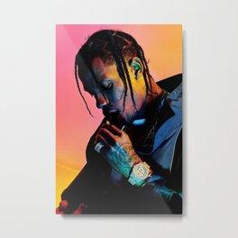 Travis Scot-t, Music Poster, Canvas, Wall, Art, Home Decor, CPX333, No Frame, Music Silk, Poster Frameless, Scott, Travis, Metal Print
