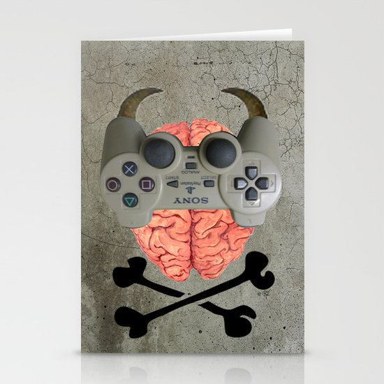 Play Brain Stationery Cards