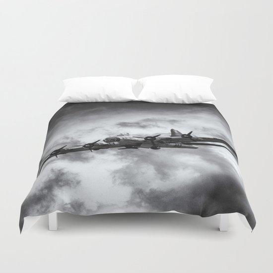 Through The Clouds Duvet Cover