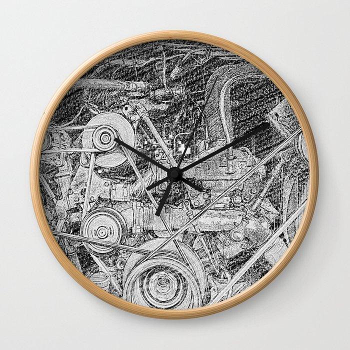 Inner Workings Wall Clock
