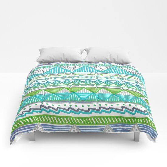 Ocean T Comforters