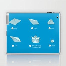 Step-by-step Origami Laptop & iPad Skin