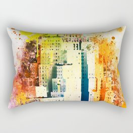 NYC Watercolor Collection - The New Yorker Rectangular Pillow