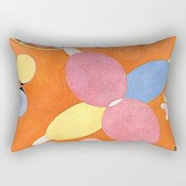 "Hilma af Klint ""The Ten Largest, No. 04, Youth, Group IV"" Rectangular Pillow"
