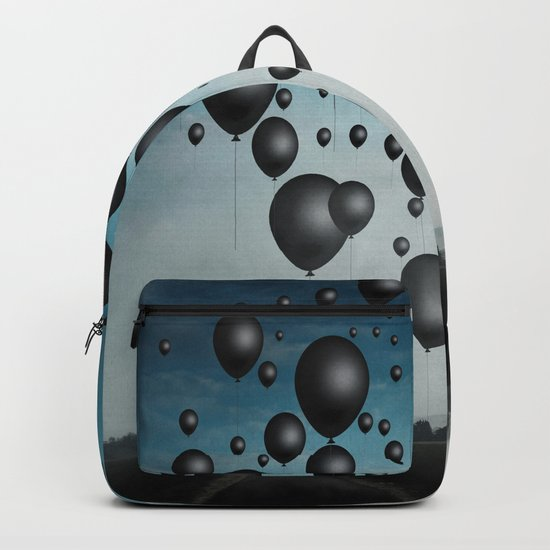 In Limbo - black balloons Backpack