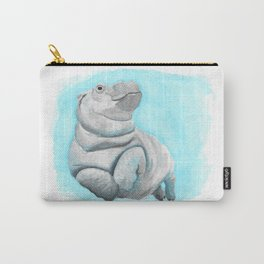 Baby Hippo Underwater Fantasia Ballet Carry-All Pouch