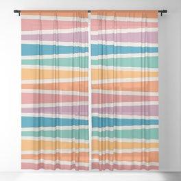 Boca Game Board Sheer Curtain