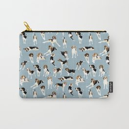 Tree Walker Coonhounds Pattern Carry-All Pouch