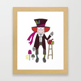 The Mad Framed Art Print