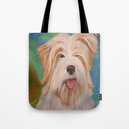 Terrier Portrait Tote Bag