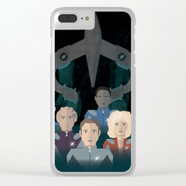 Galaxy Quest Clear iPhone Case