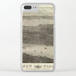 New York 1876 Clear iPhone Case