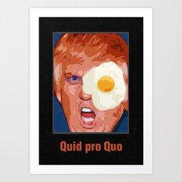 Quid pro Quo Art Print