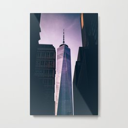 New York City One World Trade Center Metal Print