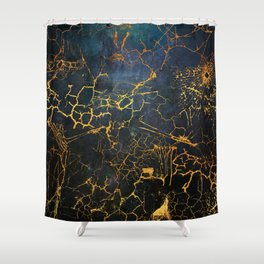 KINTSUGI  ::  Embrace Damage Shower Curtain
