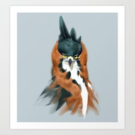 Bedroom Eyes Art Print
