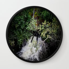 From the Leaves Wall Clock