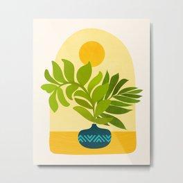 Sunday Morning / Window Series Metal Print