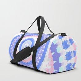 Pastel mandala Duffle Bag