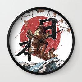 Koi Japan Wall Clock