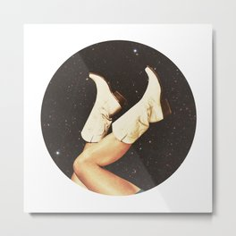 These Boots (Space) Metal Print