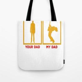 Guitarist - My Dad Tote Bag