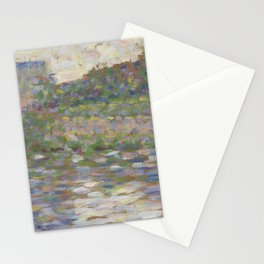 The Seine at Courbevoie Stationery Cards