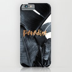 Tropical paradise - charcoal copper iPhone 6 Slim Case