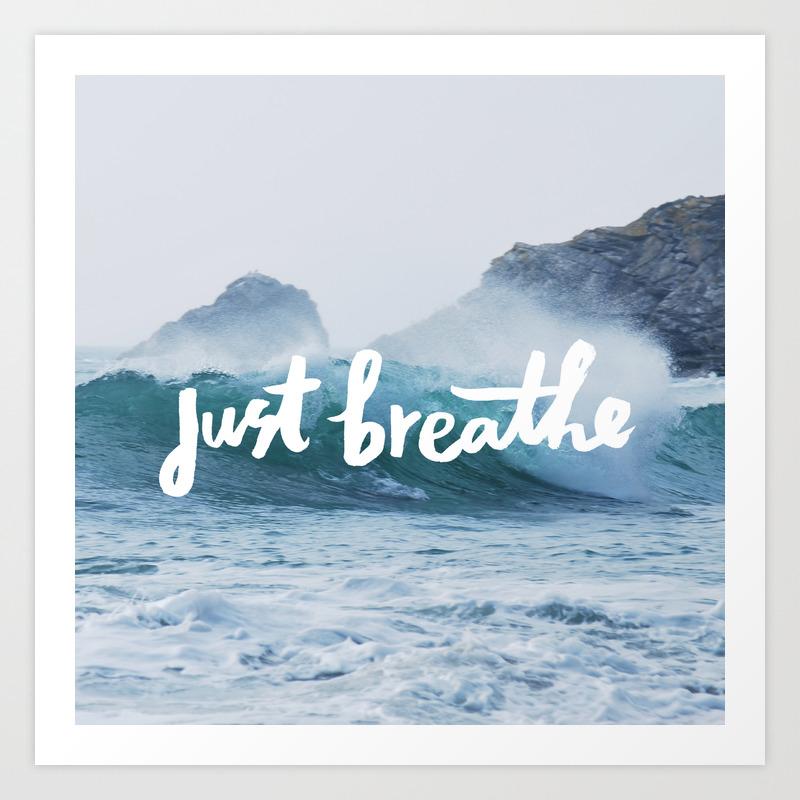 JUST BREATHE BAG 2