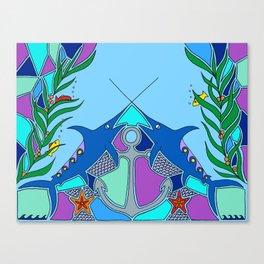 Swordfish Canvas Print