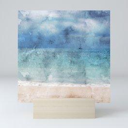 Sail Away - Beach Photo Art Mini Art Print