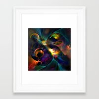 universe Framed Art Prints featuring Universe by Robin Curtiss