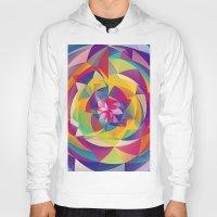acid Hoodies featuring Acid Blossom by Eleaxart