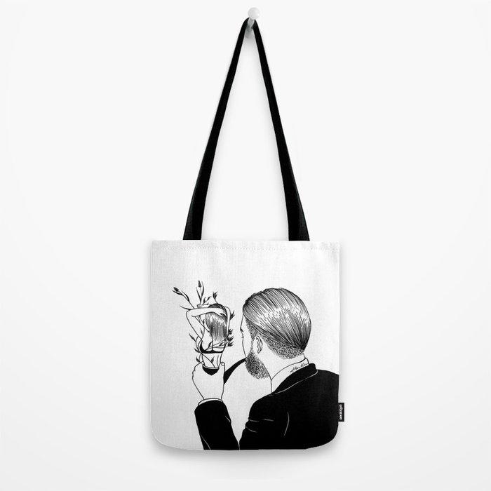 Man In Love Tote Bag