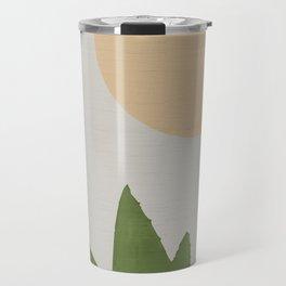Aloe and moon Travel Mug