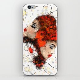 Solemissia - the real flower iPhone Skin