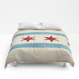 Chicago Flag Comforters