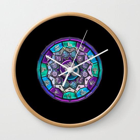 UROCK! Independence Mandala Wall Clock